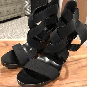 BCBGeneration Wedge Sandals - Size 10